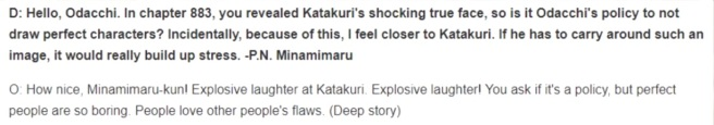 Oda answers katakuri question about perfect characters in one piece