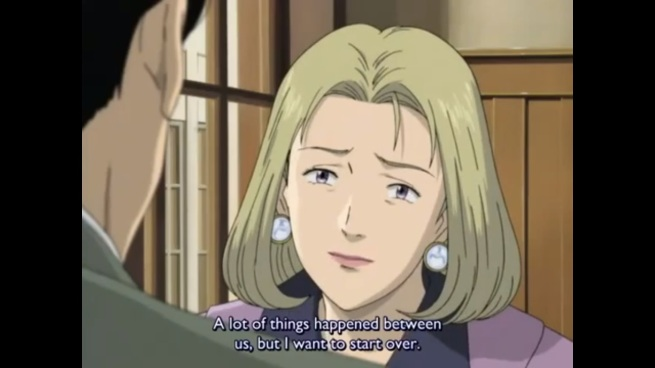 monster Eva tries to get back with Tenma