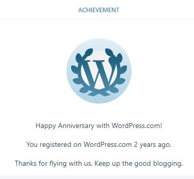 2 years of blogging