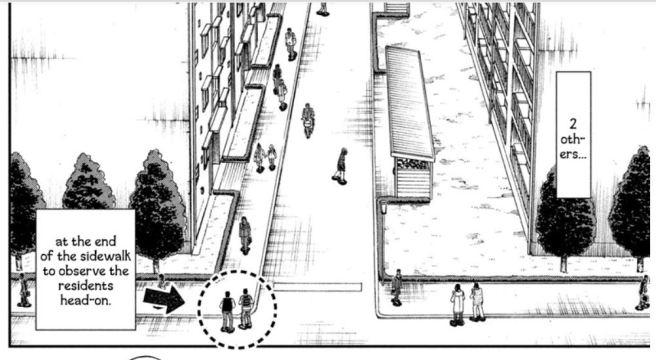 kaiji walking across the street