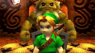 link and darunia